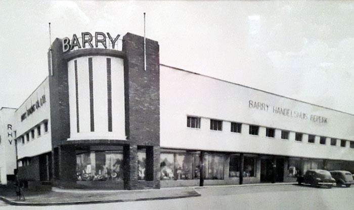 Barry Handelshuis Beperk