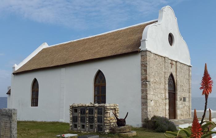 Barry Memorial Church in Port Beaufort built in 1849