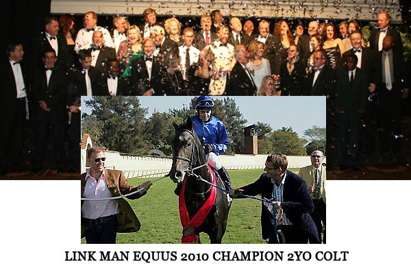 Link Man 2010 Equus Champion 2YO colt
