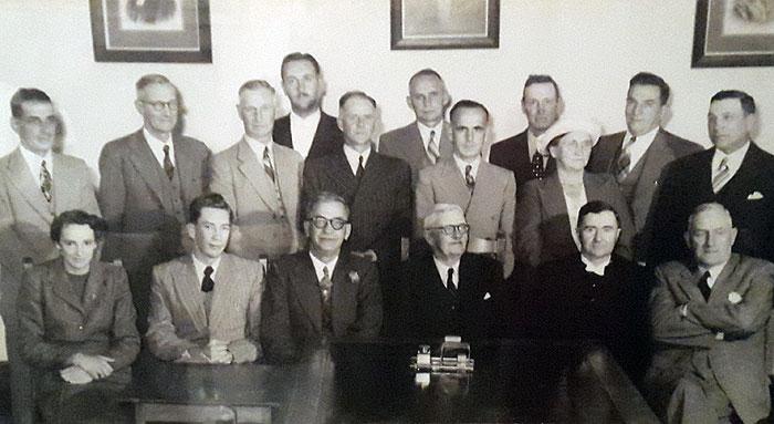 Robertson Skoolraad 1953