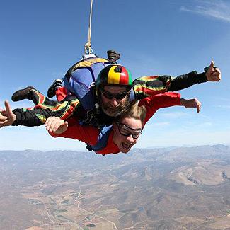 Robertson Skydive Tandem Jump