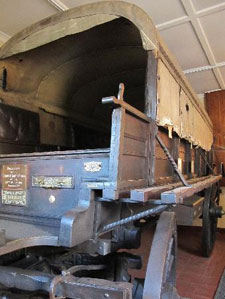 President Paul Krugers wagon made by Philip Fouche in Robertson