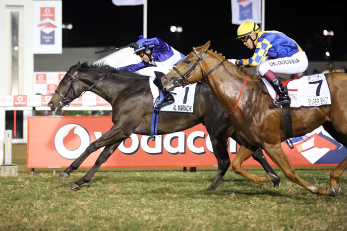Al Mariachi winning the KZN Million on July Day!